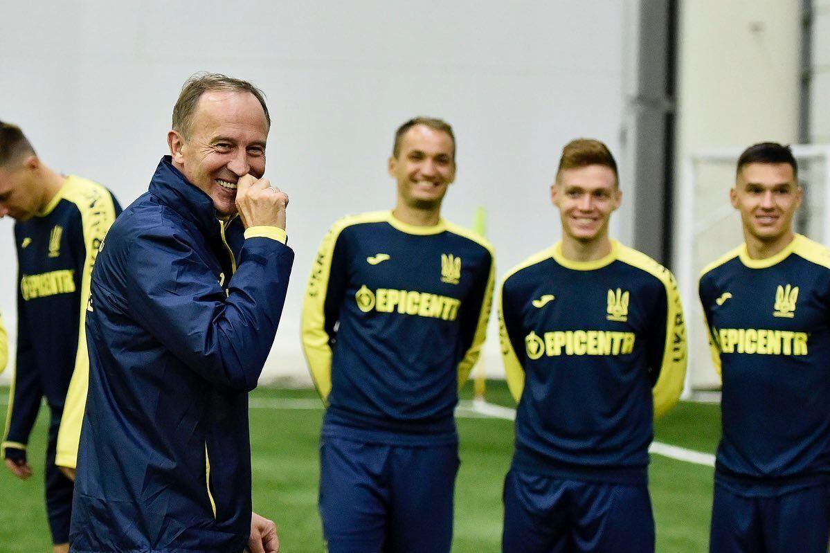Сборная Украины Александр Петраков