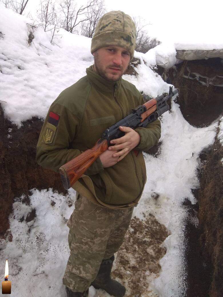 Роман Задорожный на войне провел 5 лет.
