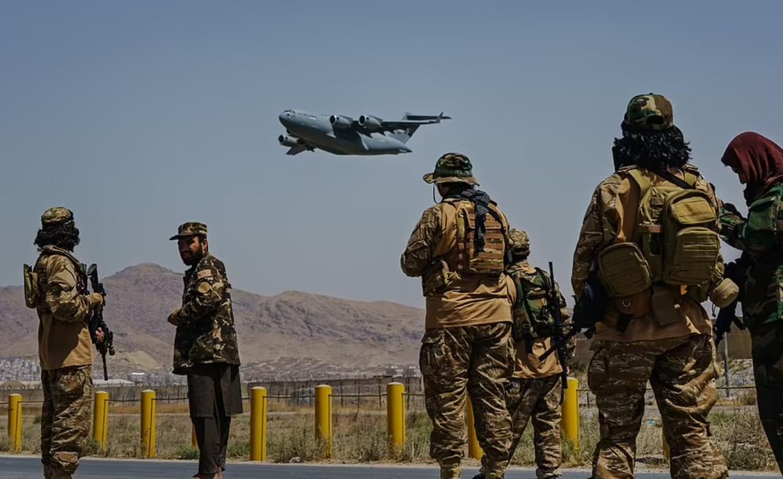Талибы в Кабуле.