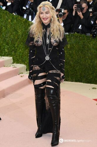 Мадонна у відвертому образі