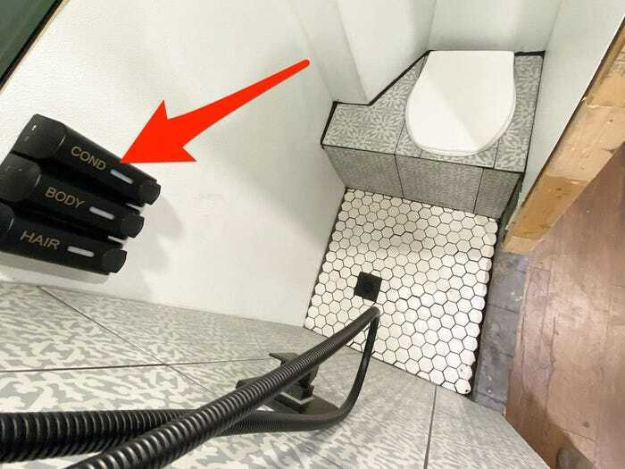 Туалет в микроавтобусе