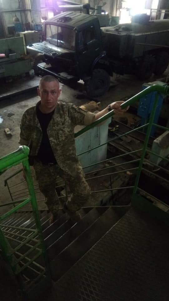 Василий Островский на войне с 2014 года.