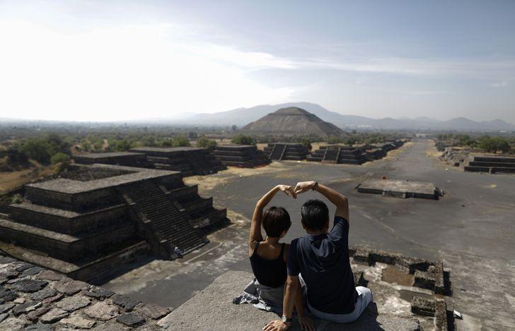 """""""Теотиуакан"""", он же """"город богов"""", в Мехико"""