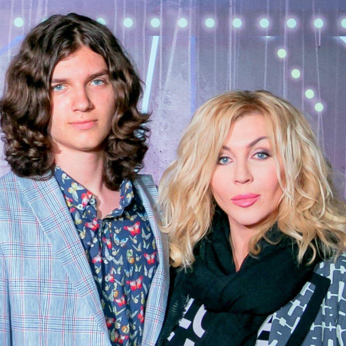 Ирина Билык со старшим сыном