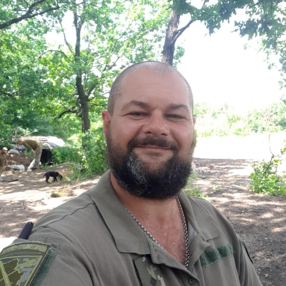 Дмитрий Сивоконь на фронт ушел в 2014 году.