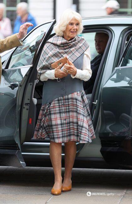 Герцогиня Корнуолльская Камилла Паркер Боулз приехала в Шотландию.