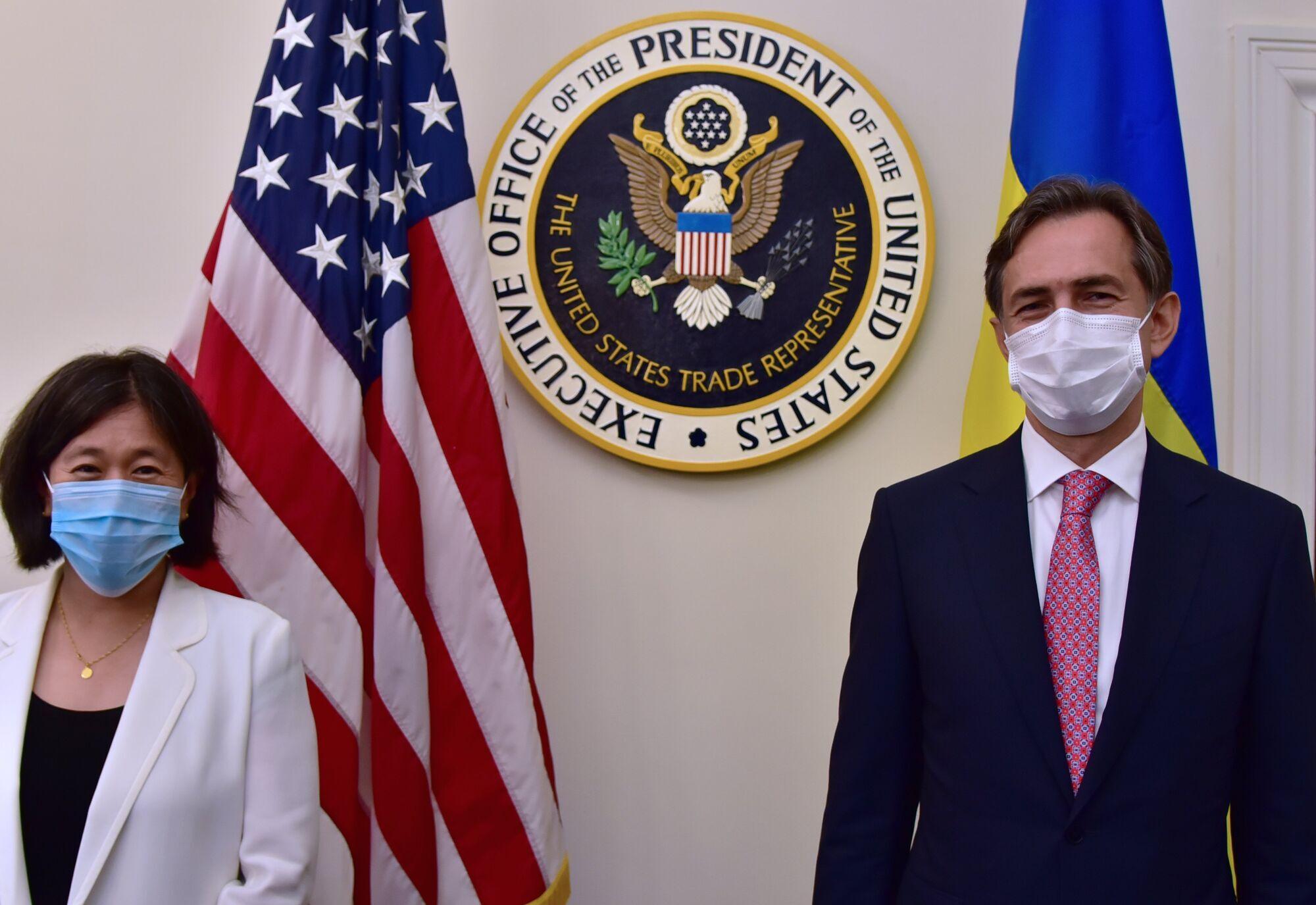 Тай і Любченко у Вашингтоні