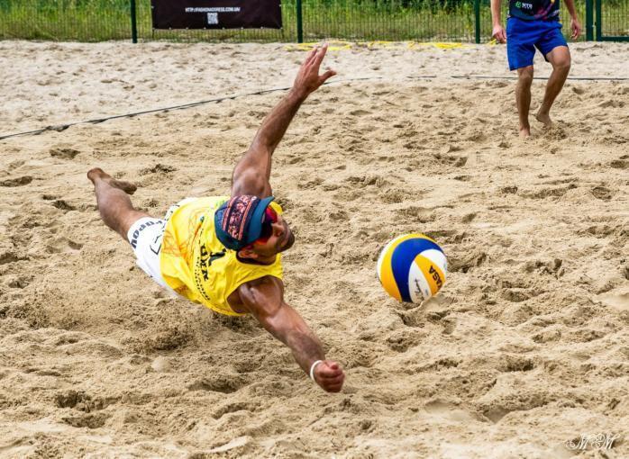 Определились победители чемпионата Украины по пляжному волейболу
