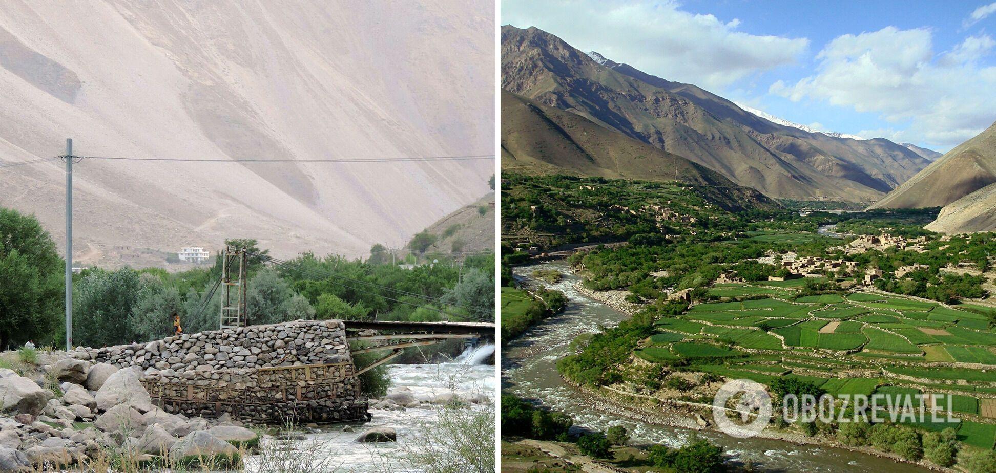Панджшерская долина находится всего в часе езды от столицы