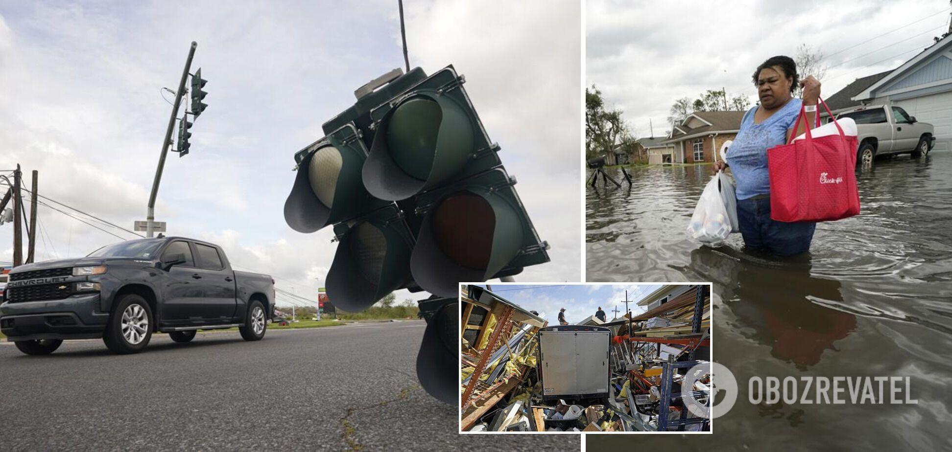Ураган Ида обрушился на побережья США