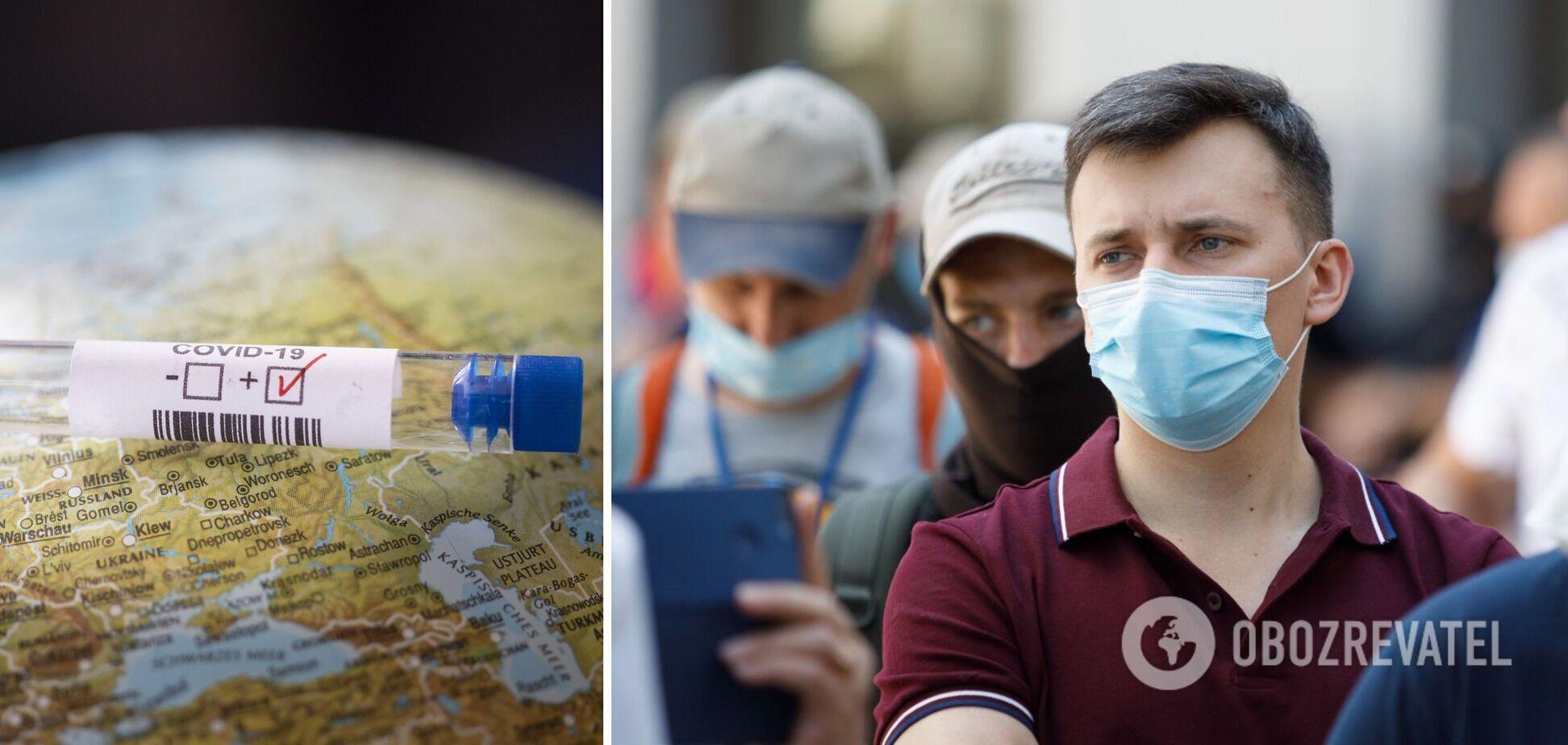 Медики не исключают ухудшения сценария с заболеваемостью COVID-19 в Украине