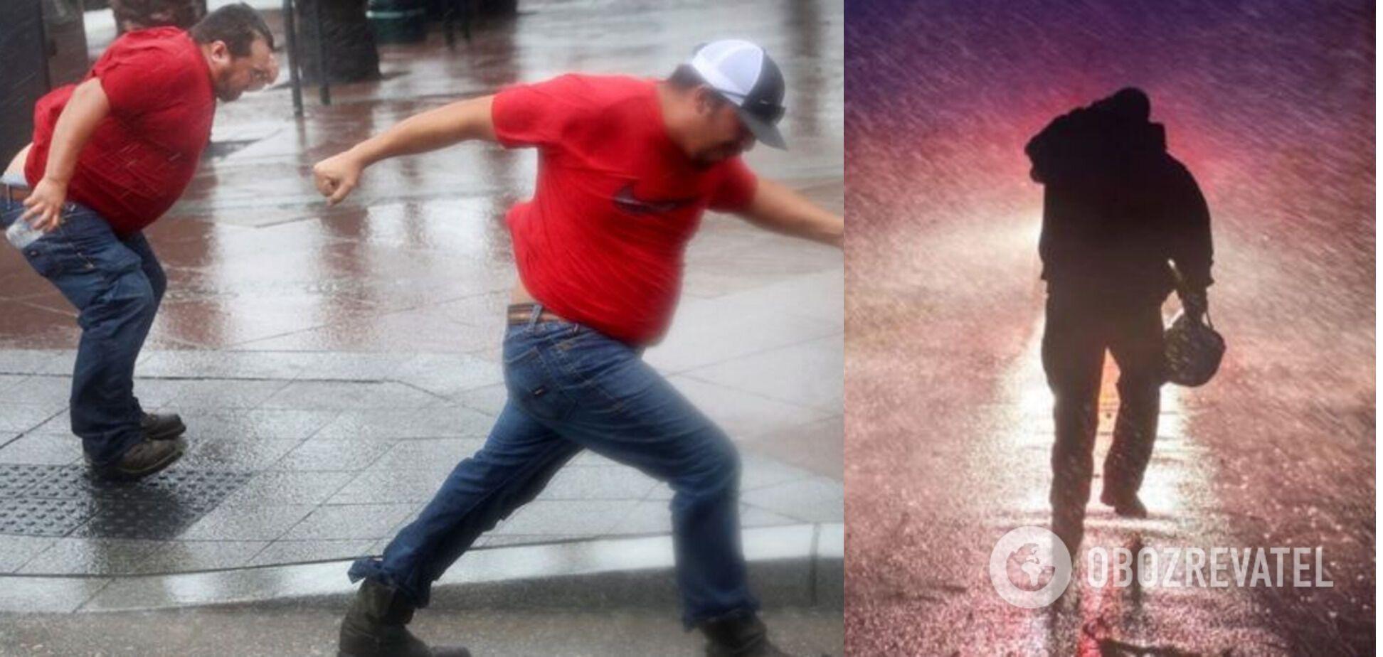 Люди спасались от урагана