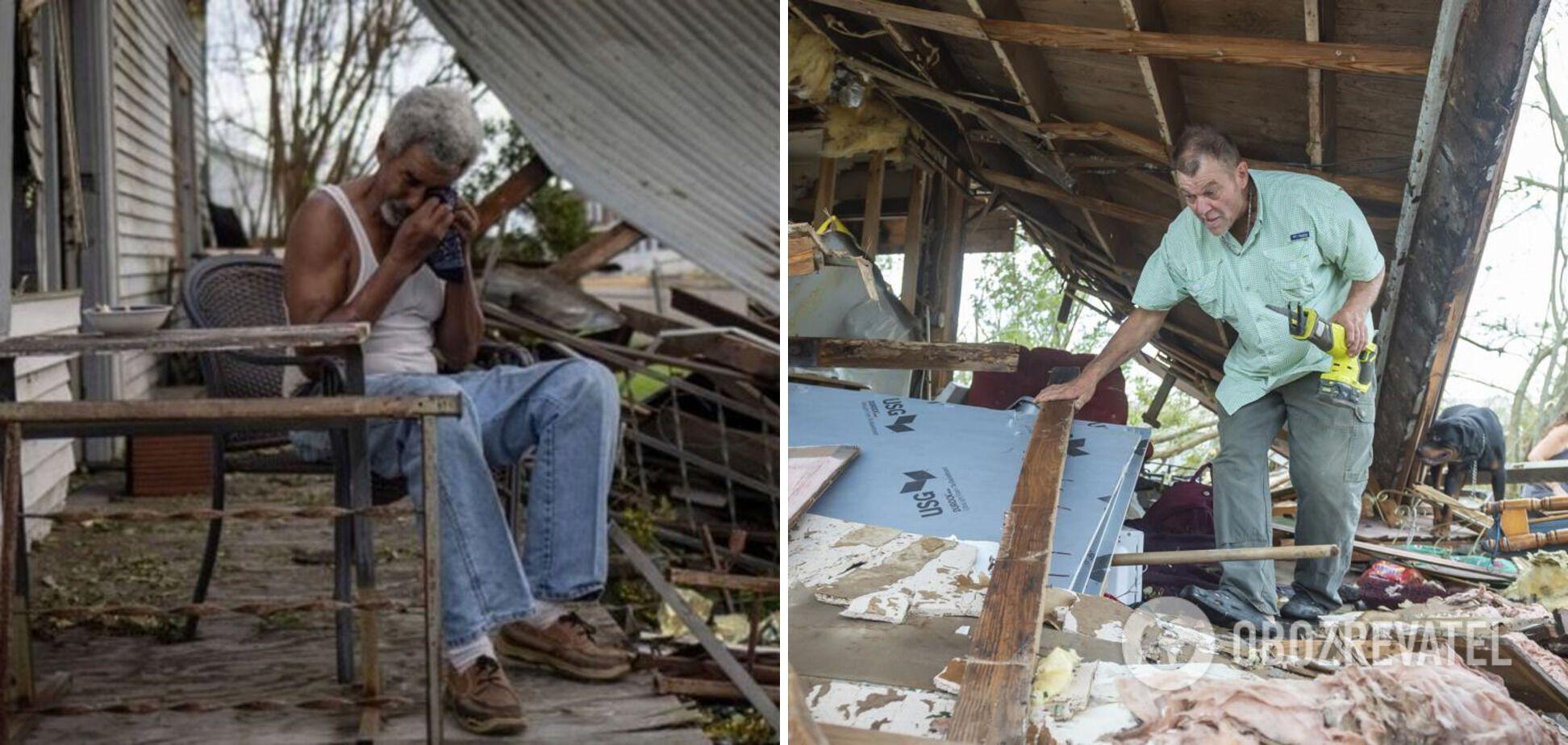 Люди остались без жилья