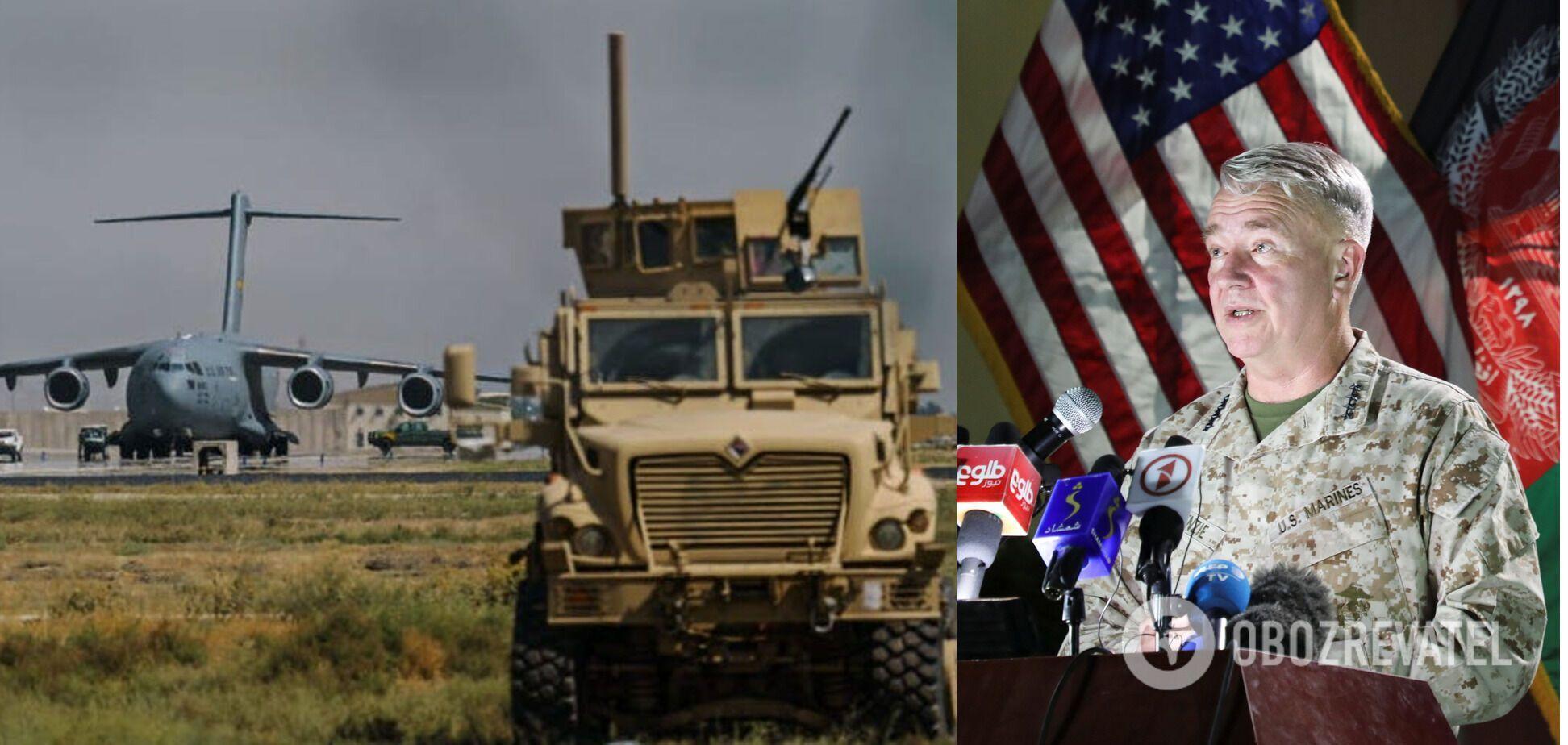 США вывели из строя самолеты и бронемашины в Кабуле, – Маккензи