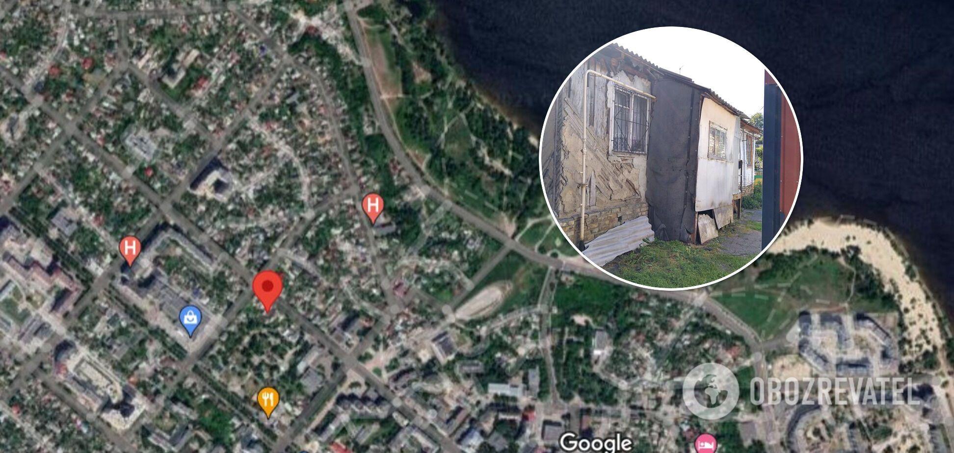 Дом Лясовых на ул. Крещатик в Черкассах