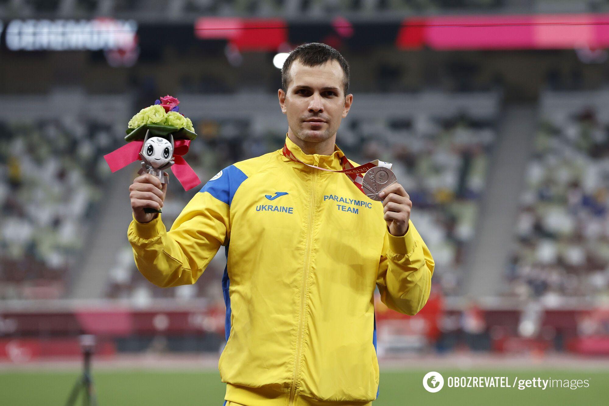 Ігор Цвєтов із медаллю Паралімпіади-2020