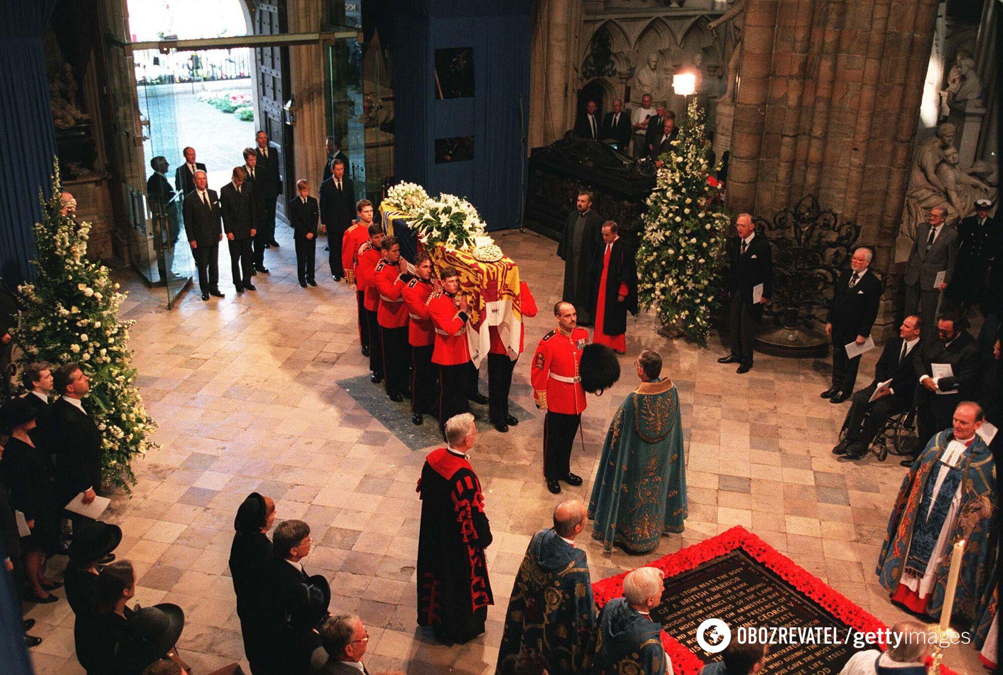 Похороны принцессы Дианы.