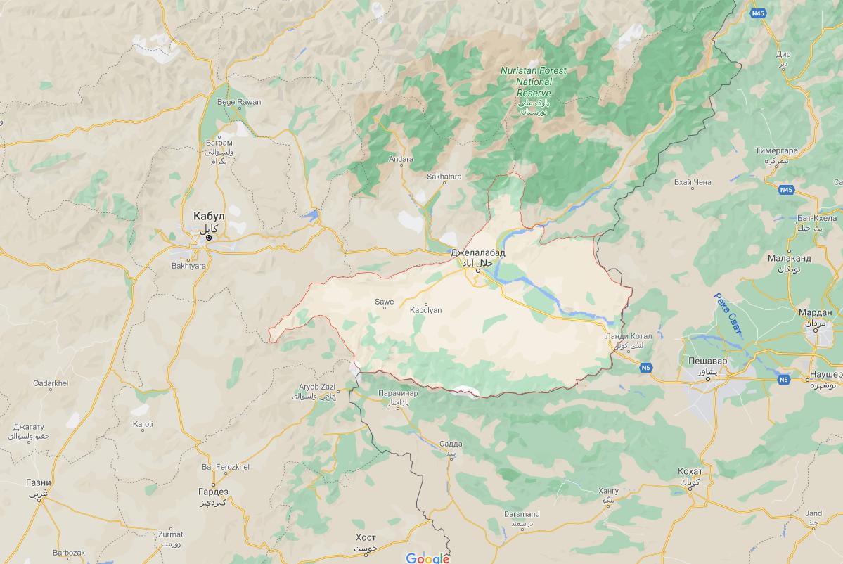Амин аль Хак прибыл в свой родной город в провинции Нангархар.