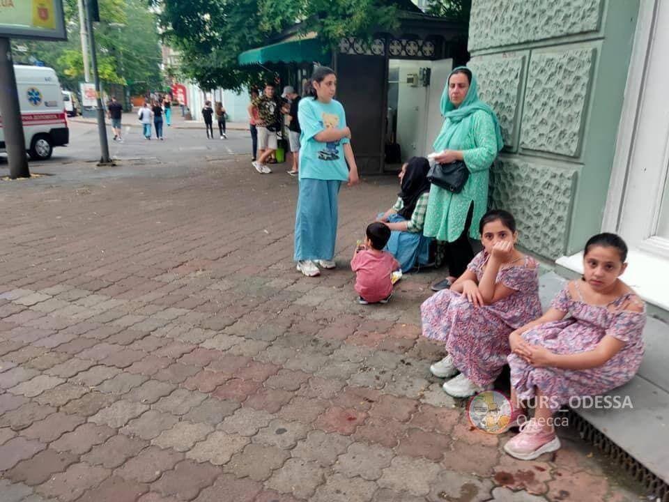 Среди беженцев много детей
