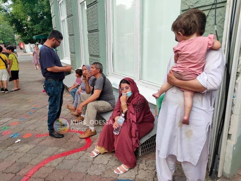 Беженцы приехали из Борисполя