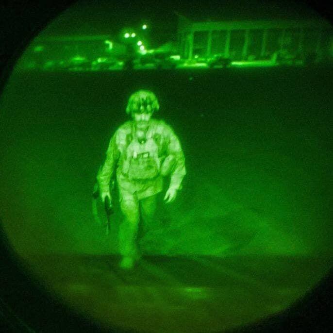 Последний солдат США покидает Кабул