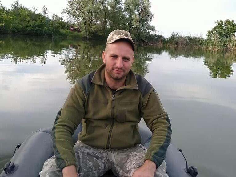 Алексей Кайданович на войне с 2017 года.
