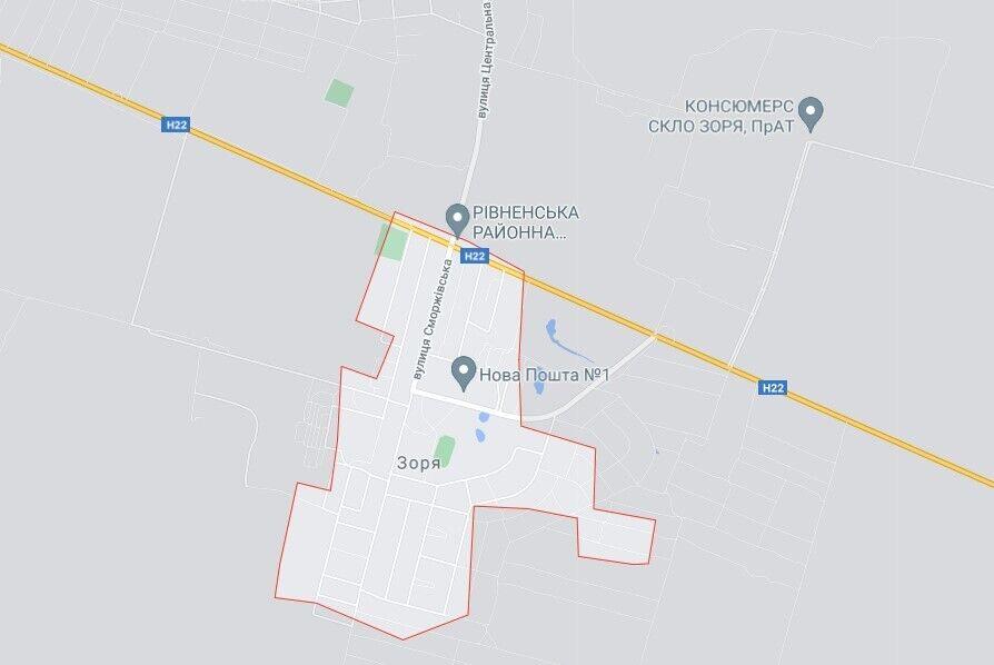 Трагічний випадок трапився у селі Зоря на Рівненщині