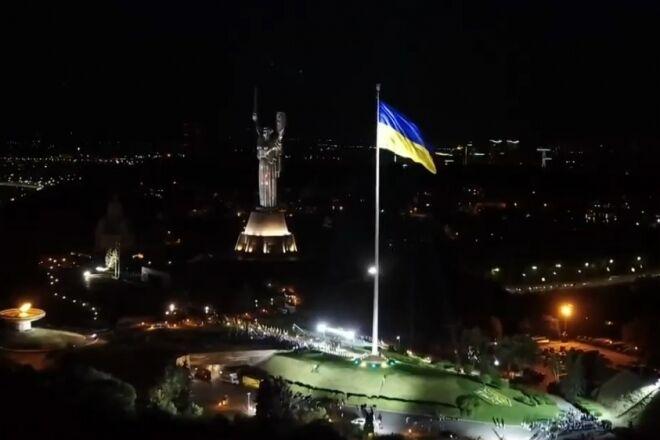 В 2020 году в Киеве построили самый большой флагшток в стране.