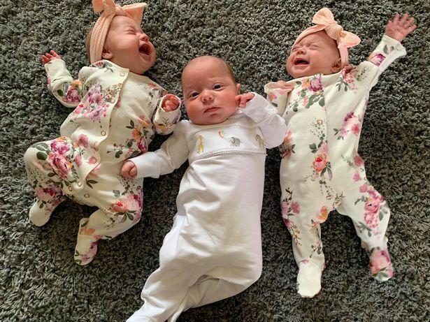 Как выглядят тройняшки Джессики