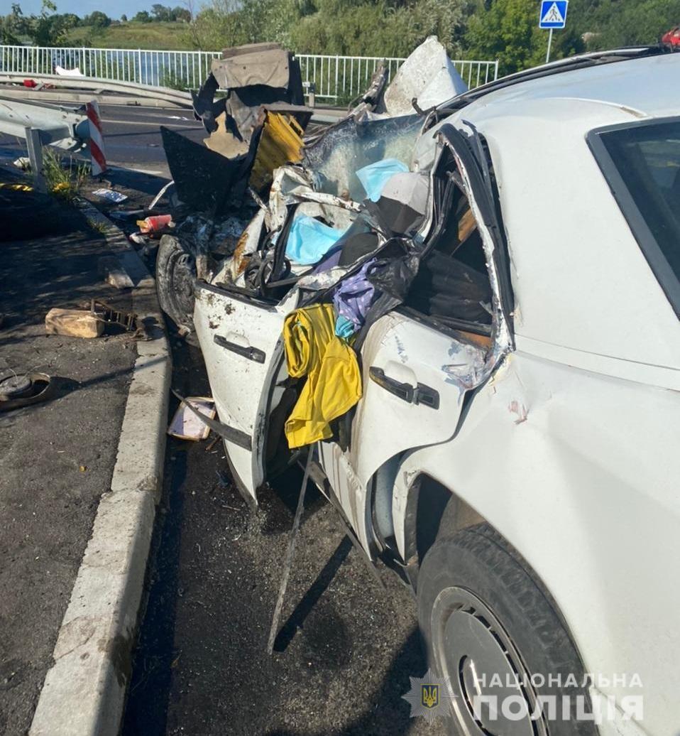 В аварії загинули чоловік та дружина.