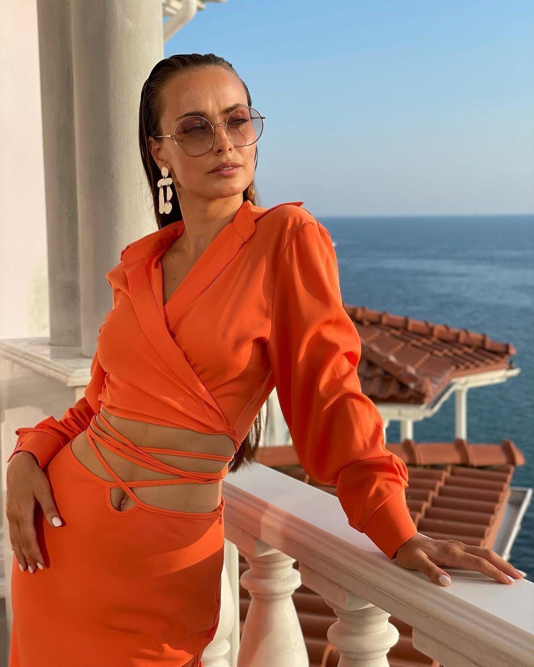 Популярная украинская актриса Ксения Мишина