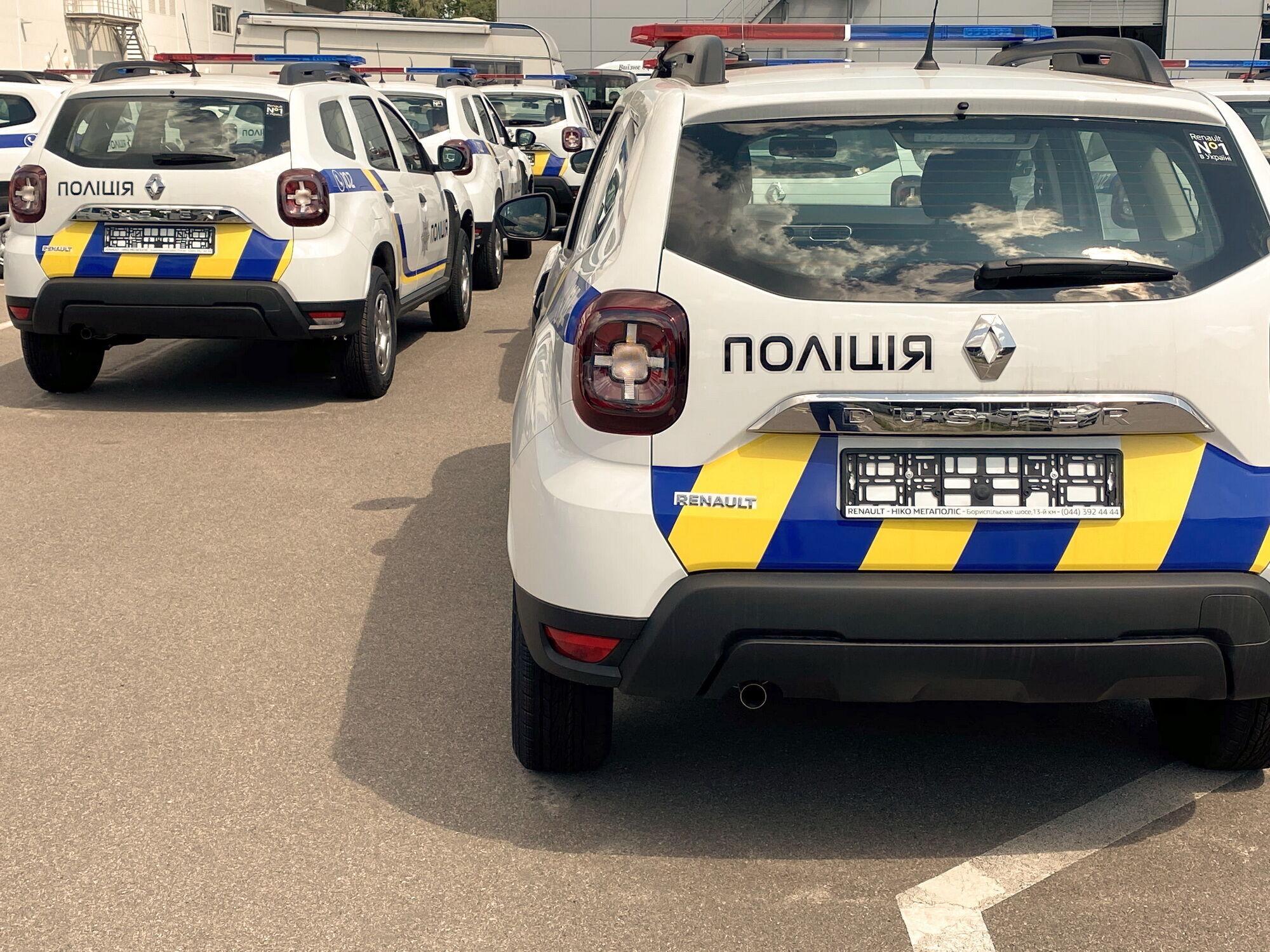 300 специально подготовленных кроссоверов Renault Duster будут служить в Национальной полиции Украины
