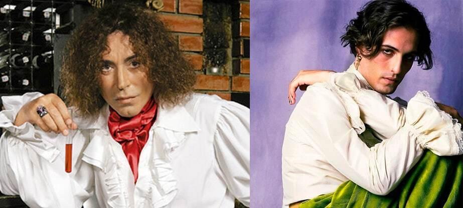 Дамиано и Леонтьев в белых рубашках