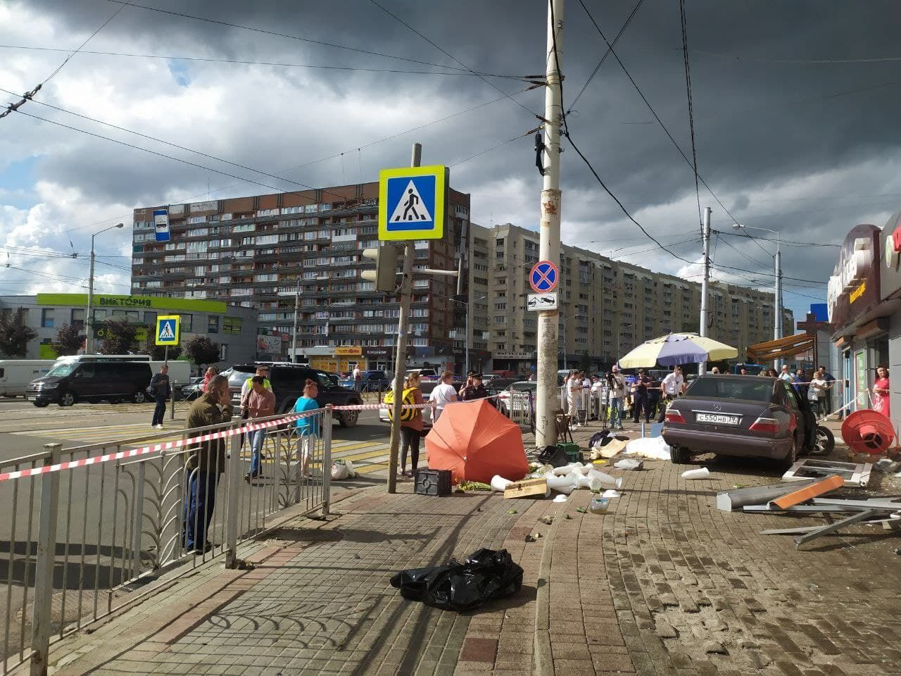 В ДТП в Калининграде погиб человек.