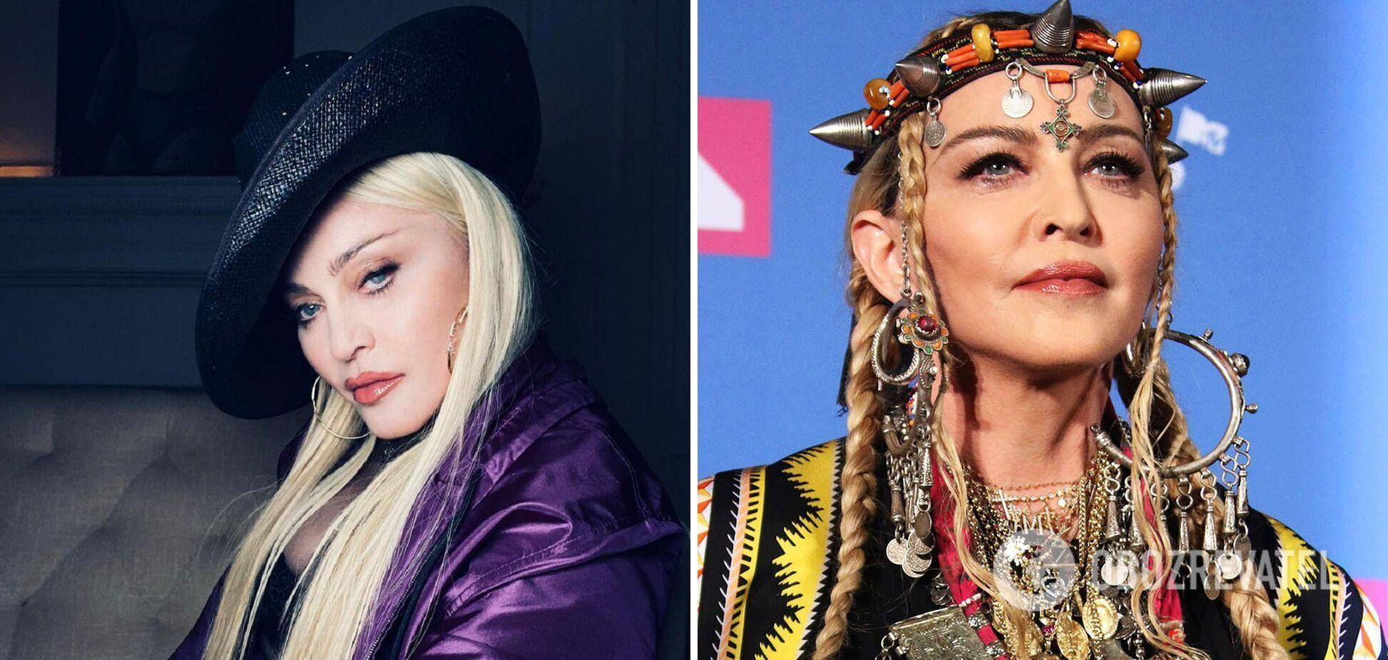 Мадонна в наши дни