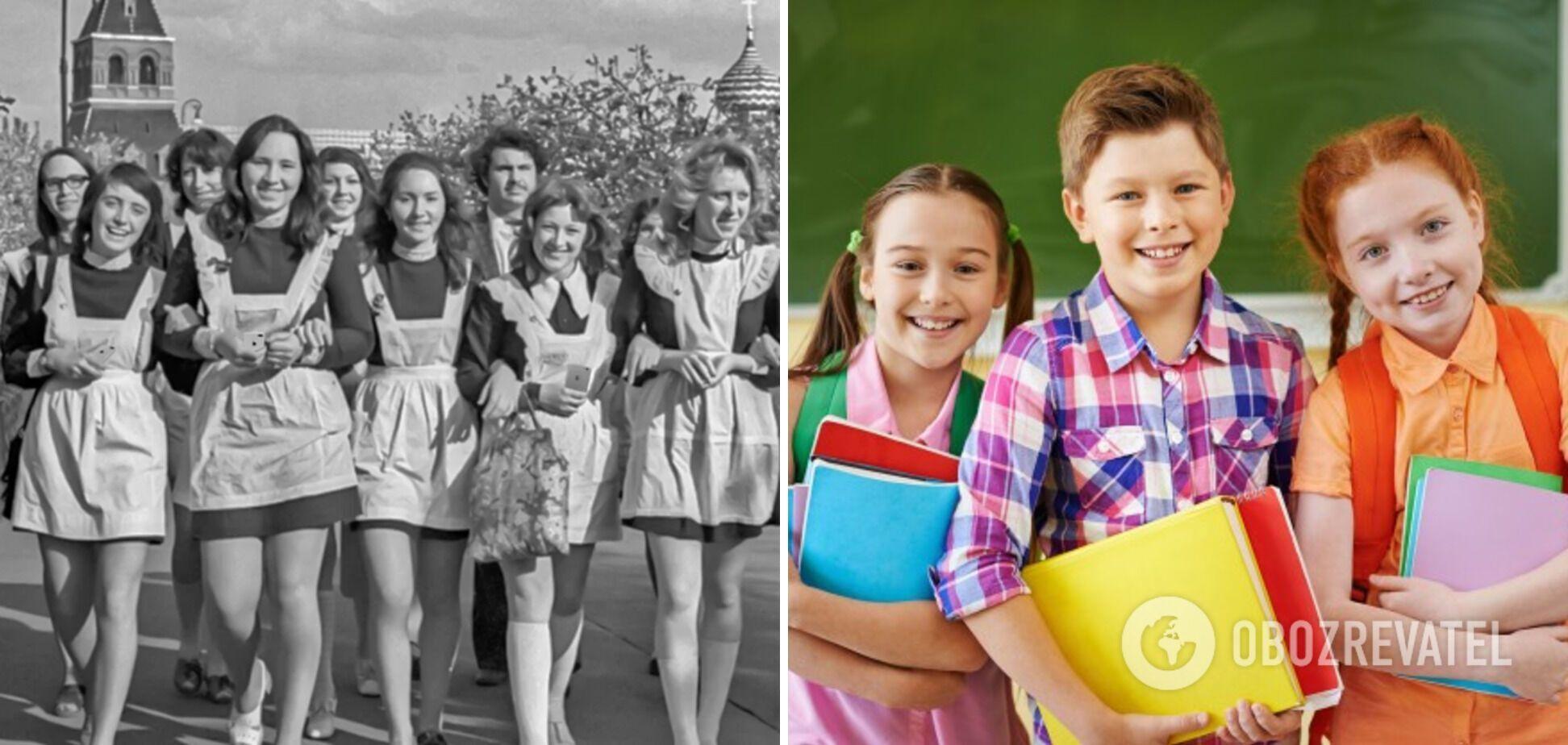 Дітей не змушують носити шкільну форму