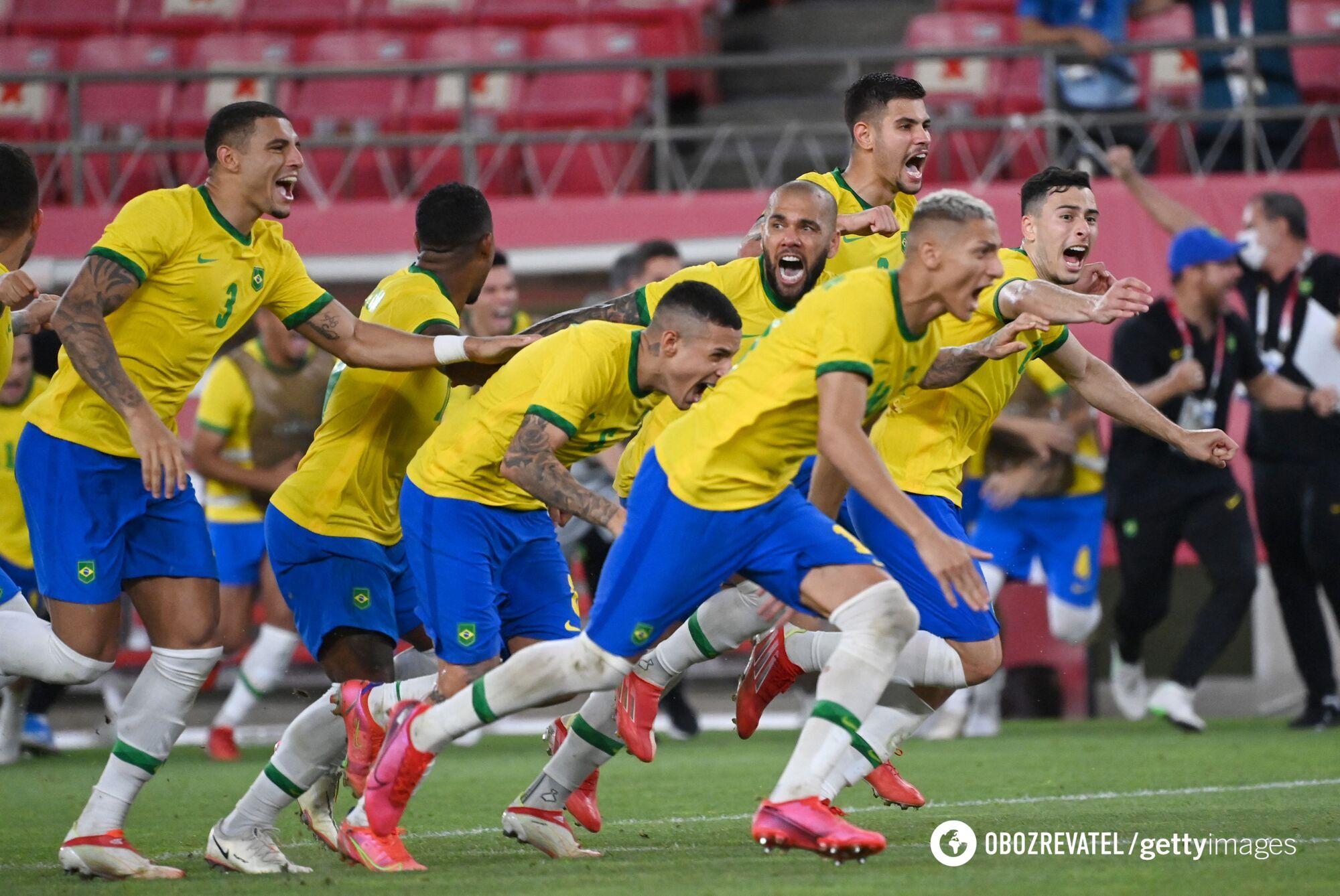 Бразилія обіграла Мексику в серії пенальті