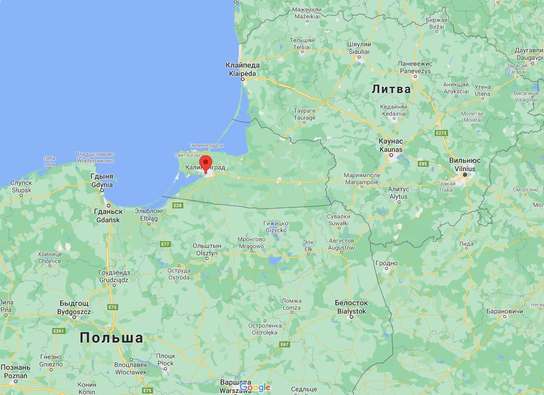 ДТП случилось в Калининграде.