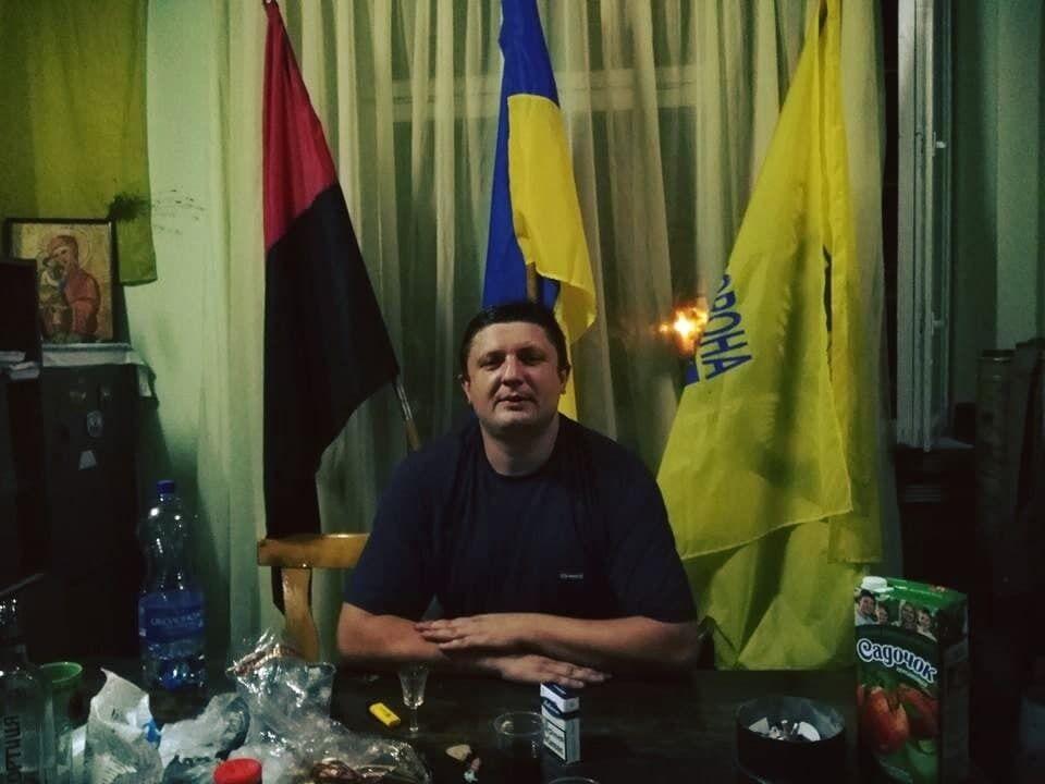 Фото из соцсетей украинца