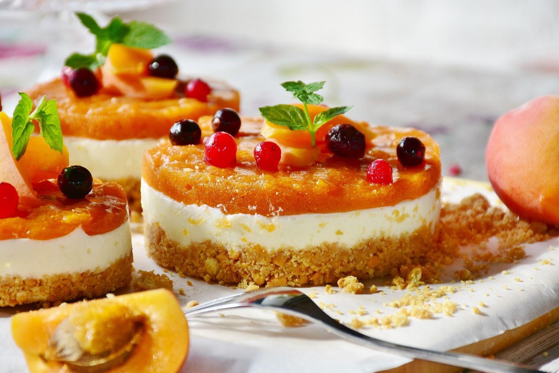 Персиковий пиріг
