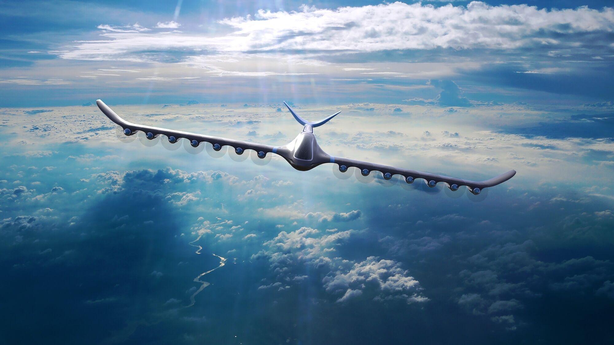 Водородный беспилотный самолет сможет пересечь Южную Атлантику