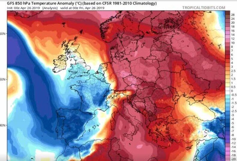 Греция побила рекорды по жаре в Европе