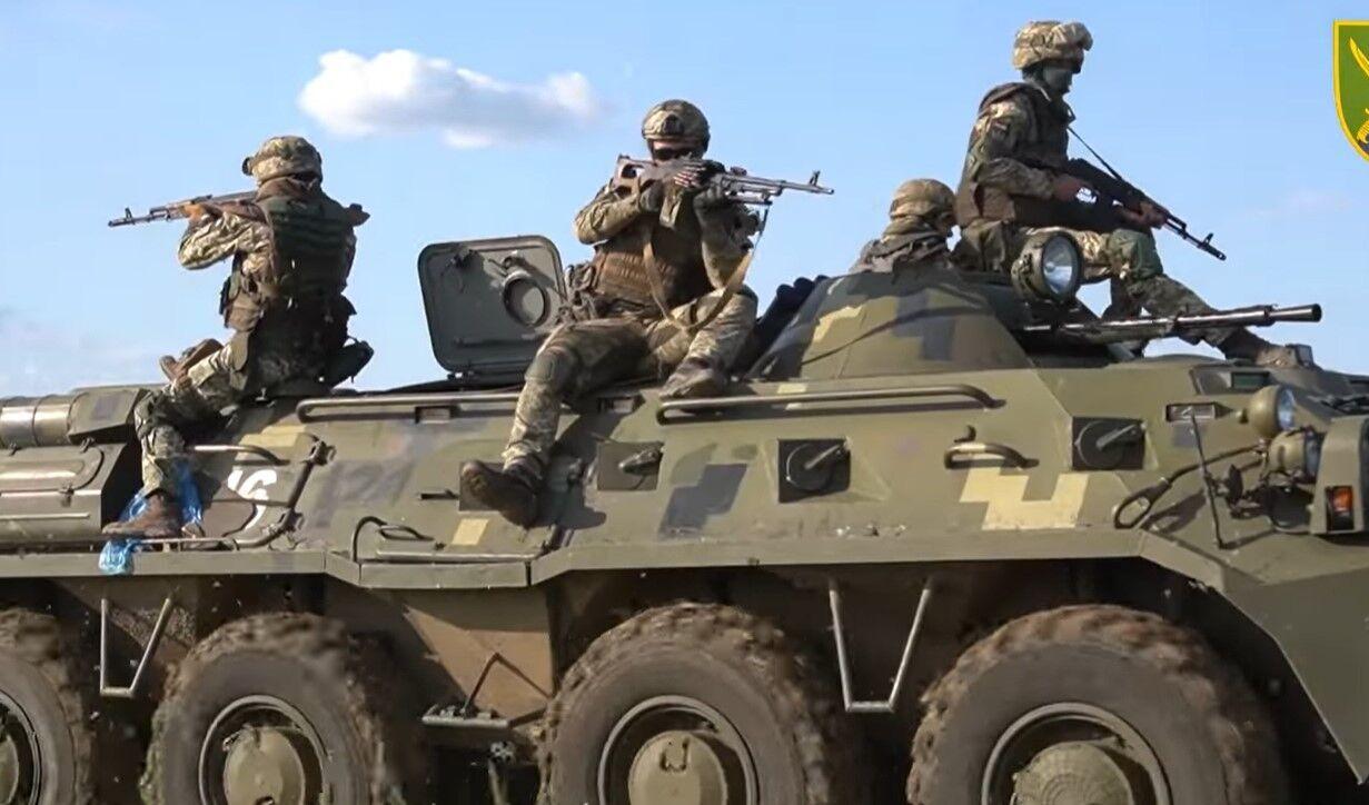 В тренировках приняли участие десантники и резервисты