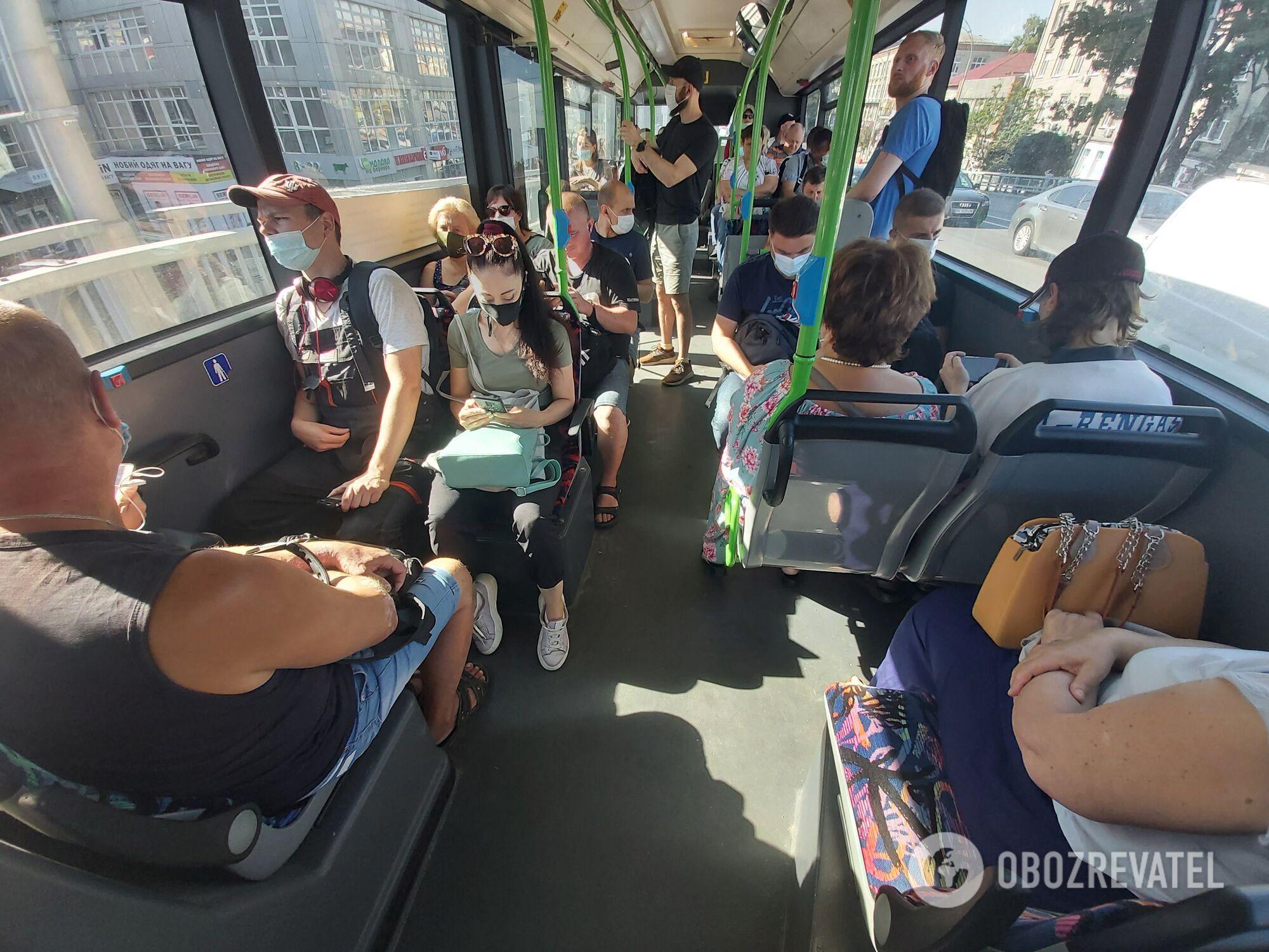 Нові автобуси з кондиціонерами.