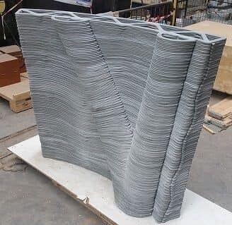 Дом будет сделан из бетона.