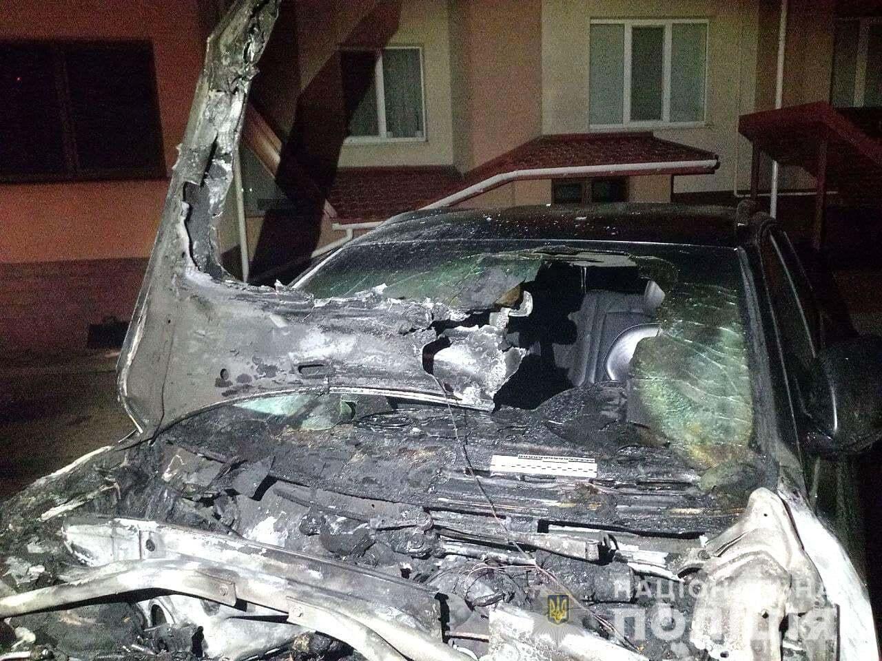 Авто сильно пострадало.