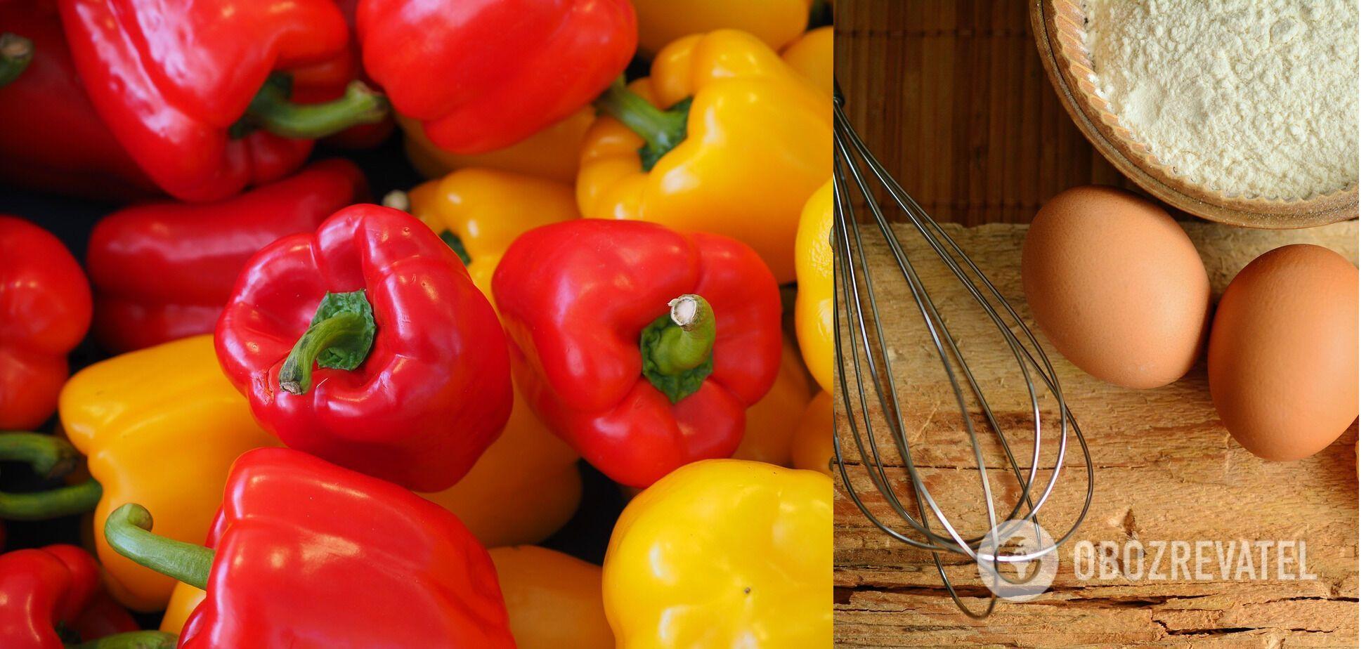 Як приготувати млинці з перцю