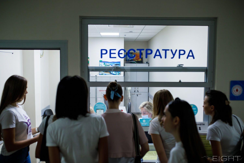"""Представительницы конкурса """"Мисс Украина"""" стали донорами крови для детской больницы """"Охматдет"""""""