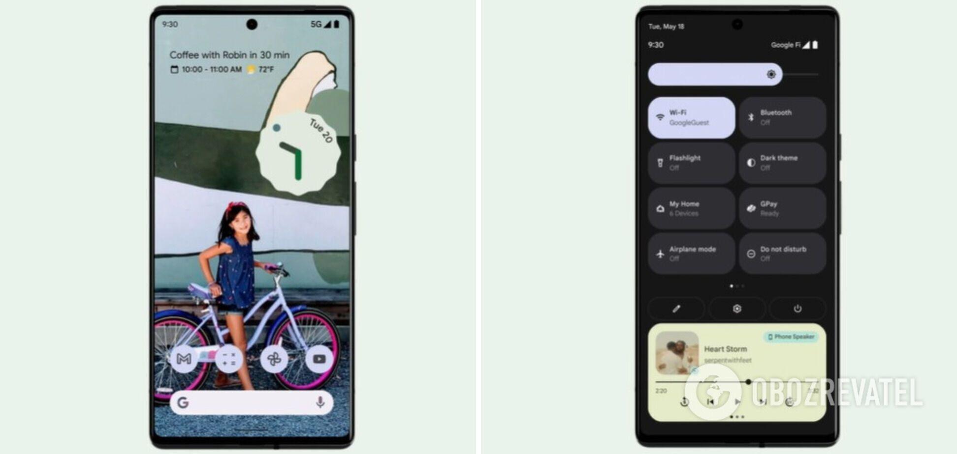 Смартфоны Pixel 6 и их версия Pro будут иметь обновленный дизайн