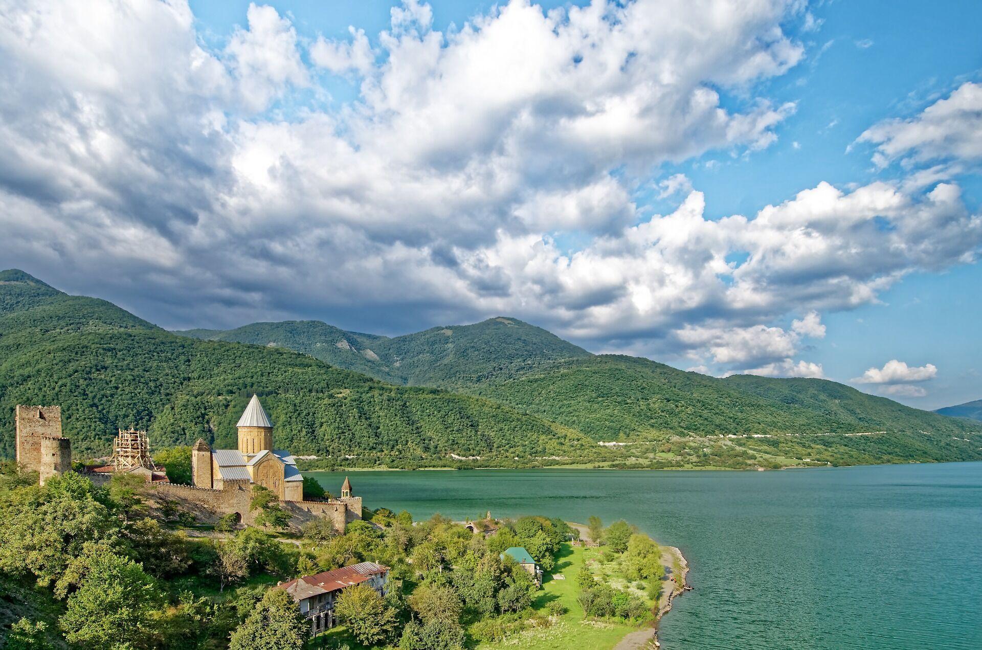 Пейзажи в Грузии.
